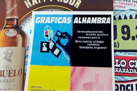 Carteles en Granada-Almería-Jaén